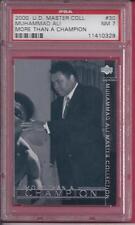 2000 Upper Deck Master Collection #30 Muhammad Ali The Legend # 005/250 PSA 7