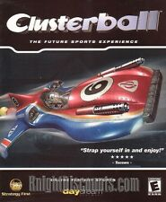 CLUSTERBALL Futuristic Sport Air Racing PC Game NEW BOX