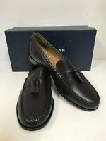 Cole Haan Pinch Handsewn Tassel C27965 Burgundy Handstain Leather