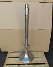 """Nautical B&W Diesel Ship Valve Spindle with Hvof Coating - 46""""H x 13.5""""dia. Base"""
