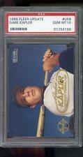1998 Fleer Tradition Update Gabe Kapler PSA 10 RC Graded ROOKIE Baseball Card