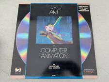 STATE OF THE ART OF COMPUTER ANIMATION LASERDISC