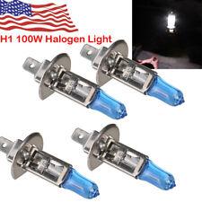 4* H1 100w Halogen Xenon Headlight Replacement  Light Bulb Lamp 6000K White