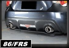 Toyota 86 FT86 BRZ Rear diffuser