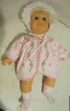 "Vintage 1986 Hasbro J. Turner 18"" Real Baby - clean & well dressed girl Vgc"