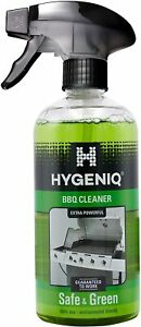 Hygeniq Safe & Green Extra Powerful BBQ Barbecue Spray Cleaner for Burnt Debris