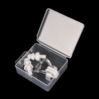 White Waterproof Soft Silicone Swimming Set Nose Clip + Ear Plug Kits Boxed PVCA
