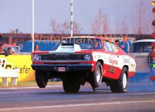 """Butch """"California Flash"""" Leal 1970 Plymouth Duster Pro Stocker PHOTO!"""