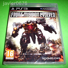 FRONT MISSION EVOLVED NUEVO Y PRECINTADO PAL ESPAÑA PLAYSTATION 3