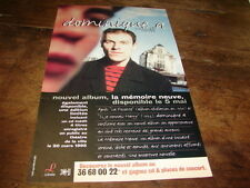 DOMINIQUE A - PETITE PUBLICITE LA MEMOIRE NEUVE !!!!!!!