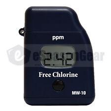 Milwaukee MW10 Free Chlorine Mini Colorimeter Photometer Meter Tester