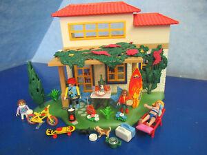 4857   Ferienhaus Toskana Surfer Figuren Family Fun Urlaub Playmobil 5026