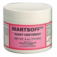 Wartsoff Wart Ointment 4 Oz Remove External Warts Cattle Goats Horses Dogs