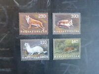 2013 HUNGARY FAUNA OF HUNGARY SET 4 MINT STAMPS MNH
