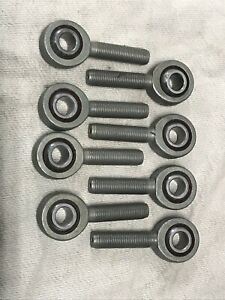 """3/8"""" LH Male Rod End Heim Joint Set Of Eight"""