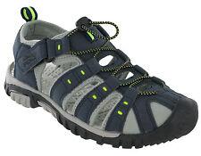 982ac10c3de PDQ Sandals Closed Toe Toggle Strap Fastening Lightweight Mens Beach  Cushioned