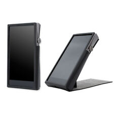 For Astell&Kern A&futura SE100 , Handcrafted MITER PU Leather Case Cover - Black