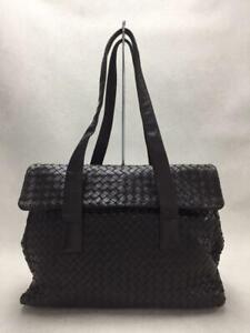 BOTTEGA VENETA  Leather 900135 Leather Brown Fashion Tote bag 5874 From Japan