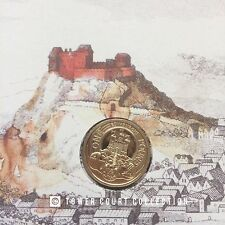 GREAT LOW NUMBER 618! The City of Edinburgh £1 Pound Coin Cover