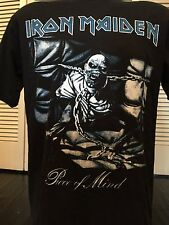 Iron Maiden Piece Promo Shirt Sz M/L Rock Satanic Morbid Death Metal Slayer 666