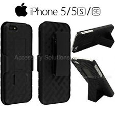 OEM Verizon Apple iPhone 5/5S/SE Shell Holster Combo Case With Belt Clip