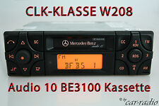 Original Mercedes Audio 10 BE3100 Kassette W208 Autoradio CLK-Klasse Becker RDS
