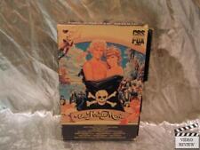 The Pirate Movie VHS Sliding Case Kristy McNichol Christopher Atkins; Good