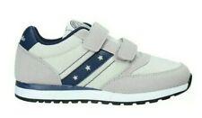 scarpe da bambino ginnastica sportive Sneakers per bimbo bimbi in tela a strappo