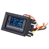 100V 10A Electrical Parameter Meter OLED Voltage Current Power Energy Tester