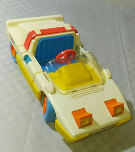 MACCHINA VINTAGE ANNI '80 CHICCO RALLY MADE IN ITALY GIOCATTOLI GIOCHI CAR AUTO