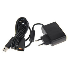 USB AC Adapter Power Supply Cable for Xbox 360 XBOX 360 Kinect Sensor EU Plug