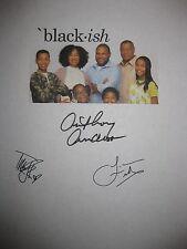 Blackish signed TV Script Anthony Anderson Ellis Ross Laurence Fishburne reprint