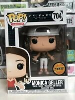 ⭐️Friends: Monica Geller #704 FRIZZY HAIR CHASE EXCLUSIVE Funko Pop Vinyl +PrTr⭐