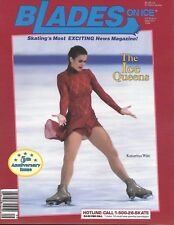 BLADES ON ICE magazine v5(1) Sept/Oct 1994 5th Anniversary issue KATARINA WITT