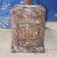 ~Antique ~French ~Godin 428 ~Stove ~Multifuel ~Fire ~Marble Effect Enamel ~