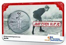 Nederland Jaap Eden Vijfje 2019 UNC kwaliteit in coincard