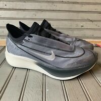 Nike Zoom Fly 3 Dark Smoke Grey Black Summit White AT8241-001 Women's Size 7