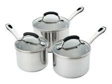 RACO Contemporary Stainless Steel 3 Piece Cookware Set