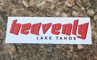 Heavenly Ski Sticker - Skiing Snowboarding Lake Tahoe Mountain Sports