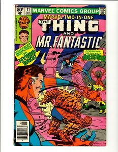 Marvel Two-In-One #71. The Thing And Mr. Fantastic.