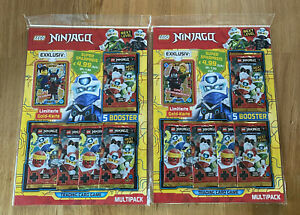 LEGO Ninjago Serie 5 NEXT LEVEL - 2 x Multipack mit LE17 + LE18