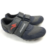 Specialized Mens 11.5 Sport Mountain Bike Shoes 2 Strap Suede Clipless