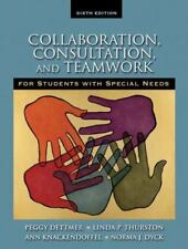 Collaboration, Consultation and Teamwork for Students with Special Needs (6th