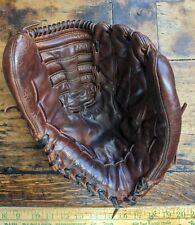 Vintage MacGregor model KC3 baseball glove, RHT, kangaroo, RARE, totally relaced