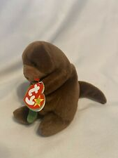 Retired Ty Seaweed The Otter Beanie Baby Rare Tag Errors