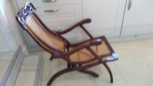 Antique Indo-portuguese plantation chair