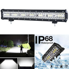 420W Super Bright 20inch 140 CREE LED Work Light Bar Fog Driving Lamp Waterproof