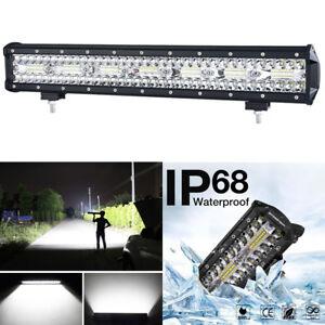 420W Super Bright 20inch 140 LED Work Light Bar Fog Driving Lamp Waterproof 1Pcs