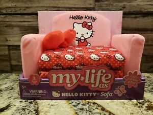 "My Life As Hello Kitty Fold-Out Sofa for 18"" Dolls"