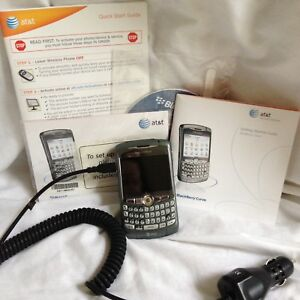 BlackBerry Curve With Car Attachment CD Not Working Parts Repair AT&T